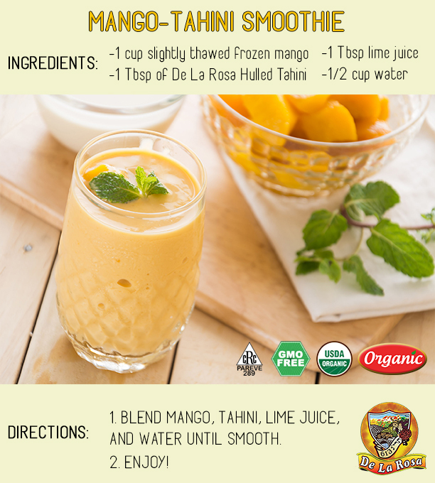 Mango Tahini Recipes