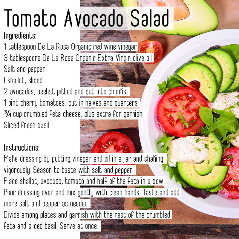 Tomato Avocado Salad Recipes