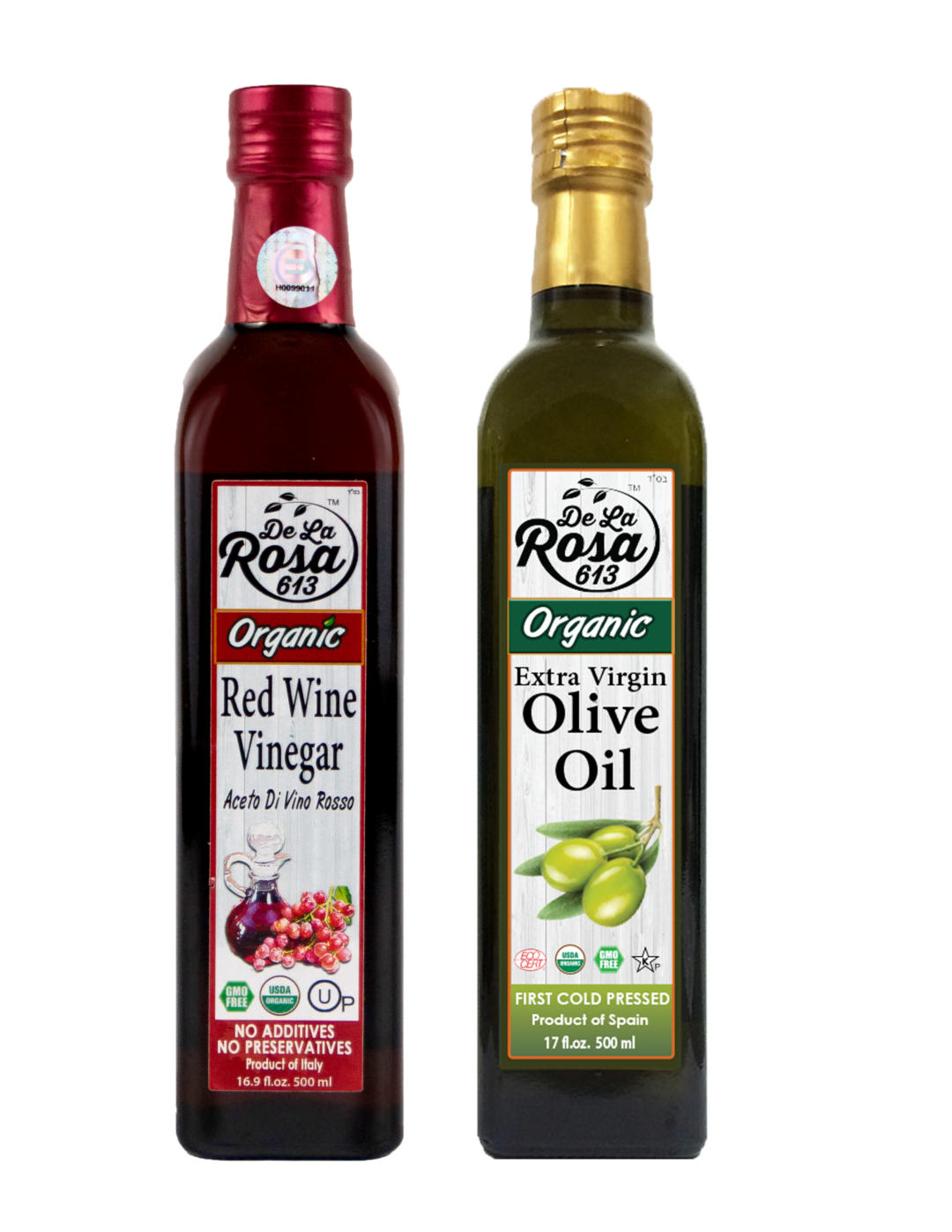 red and evoo